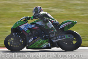 1st pole on return for Leon Haslam