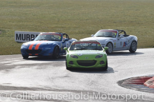 Championship contenders were close from 1st lap
