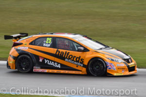 Championship leader was Matt Neal