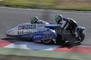 Championship leaders of FIM World Sidecars was Reeves & Cluze