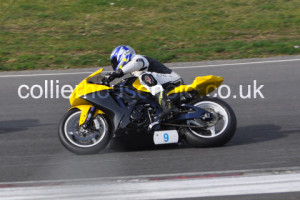Formula 600 rider Paul Charman was out for a strong weekend