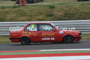 Gary Feakins looked the man to beat in PBMW