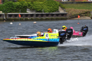 Jelf, Norris & Hugman were leading three in GT30