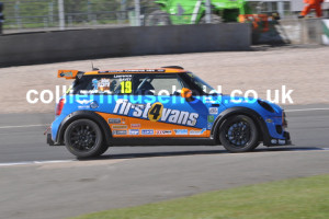 Lawrence Davey was prepared for another competitive MINI Challenge season