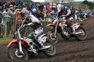 MX2 R2 - Lars Van Berkel lands in 2nd ahead of Pocock