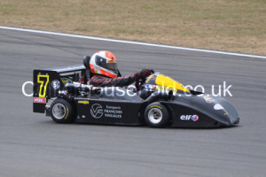Emmanuel Vinuales Leads the European Superkarts