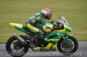 Qualifying was no concern for Tarran Mackenzie