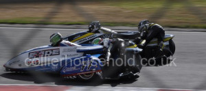 Qualifying would end with Tim Reeves Racing & Be Wiser on the front row