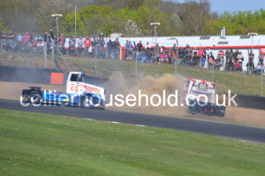 R4 - Ryan Smith in gravel after contact