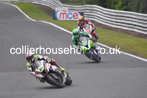 Race 1 early on was Byrne leading Ellison & Brookes