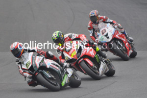 Race 1 fight for 4th included Easton, Bridewell & Kiyo