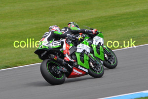 Race 1 fight for the lead - Sykes vs Baz