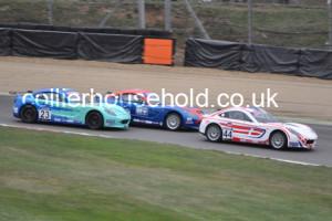 Race 1 first corner saw some close racing