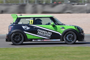 Race 1 in JCW class saw victory for Neil Newstead