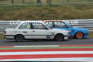 Race 1 was difficult for Jack Gabriel, challenged by George Sealey early on