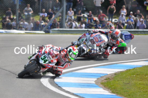 Race 2 disaster for Laverty as he loses front behind Rea & Giugliano