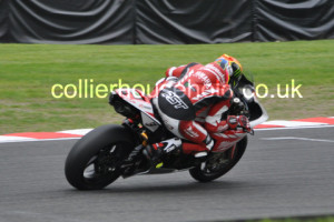 Race 2 pole man Josh Brookes made the most of his position