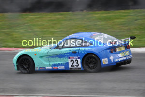 Race 2 restart had perfection from Billy Monger to lead