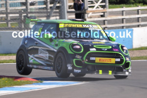 Race 2 winner Charlie Butler-Henderson pushed the F56 on racing return