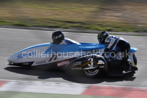 Race was going well for John Holden Racing before they crashed out