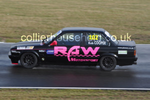 Rob Cooper started race 2 well but settled for 4th