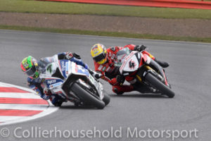 early leader Laverty under pressure from Linfoot